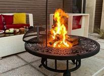 آتشکده فلزی آتشدان فلزی هیزمی در شیپور-عکس کوچک