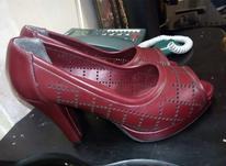 کفش مجلسی زنانه،شیک و با کیفیت،زرشکی،سایز38-39 در شیپور-عکس کوچک