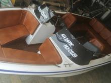 قایق 20 فوت 10 نفره سفارش میگیرم با موتور در شیپور