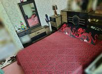سرویس خواب دونفره کمد دودر3کشو ستش در شیپور-عکس کوچک