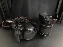 دوربین canon 750 D با لنز 18-135 در شیپور