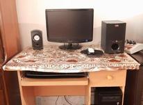 فروش کامپیوتر سالم و در حد نو همراه با میز در شیپور-عکس کوچک