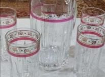 پارچ و لیوان ایتالیا اصل با 5 تا لیوان در شیپور-عکس کوچک