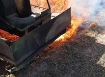دستگاه شعله افکن . یونجه سوز . در شیپور-عکس کوچک