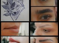 تتو بدن و صورت در شیپور-عکس کوچک