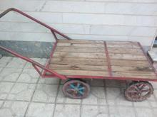 گاری چهار چرخ در شیپور