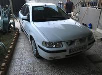 سمند سفید دوگانه cng مدل 90 در شیپور-عکس کوچک