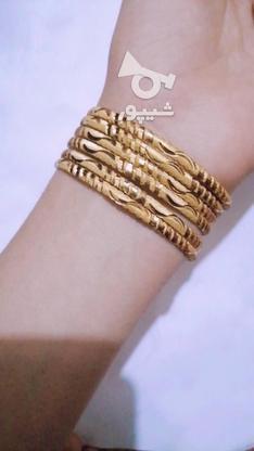 النگو طرح طلا رنگ ثابت بدون حساسیت تضمینی در گروه خرید و فروش لوازم شخصی در آذربایجان شرقی در شیپور-عکس2