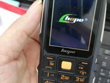 گوشی ساده چریکی هوپ مدل s3 نظامی پاور بانک شو مقاوم + ارسال در شیپور