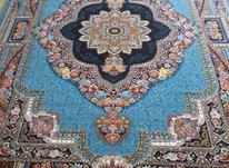 فرش دربار کاشان، ماشینی، باغ معلق 6متری ، طرح 700 شانه در شیپور-عکس کوچک