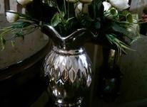 گلدان به همراه گل در شیپور-عکس کوچک