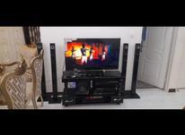 تلویزیون با سیستم صوتی در شیپور-عکس کوچک