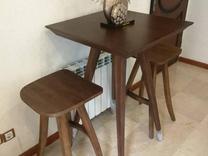 میز چوبی 2 نفره مدرن در شیپور