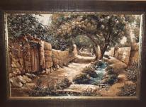 تابلو فرش کوچه باغ در شیپور-عکس کوچک