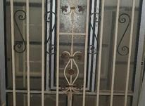 پنجره الومینیومی حفاظ اهنی در شیپور-عکس کوچک