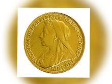 سکه طلای ضرب اصل از ملکه ویکتوریا در شیپور
