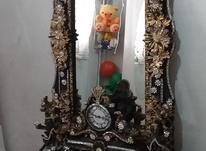 آینه وشمع دان نگین دار و شیک و تمیز در شیپور-عکس کوچک