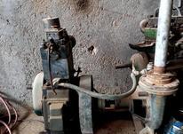 فروش موتور مارگو آبی با پمپ و شاسی آماده بکار در شیپور-عکس کوچک