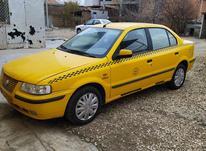 تاکسی سمند داخل شهر ترکمن با امتیاز در شیپور-عکس کوچک