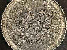 مجمع قلمزنی مسی قلم زنی دیوارکوب سینی کهنه قدیمی دکوری عتیقه در شیپور