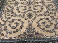 فرش عقیق دربار کاشان، نسکافه ایی (گردویی)، 6متری 700 شانه در شیپور-عکس کوچک