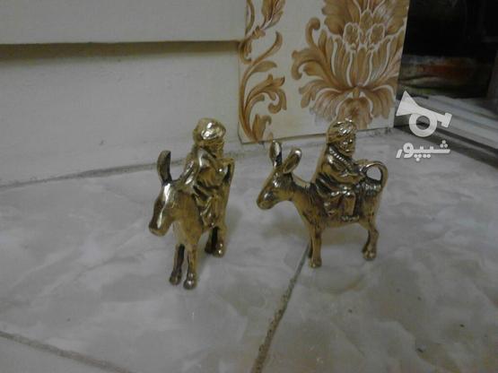 دو عدد مجسمه برنزی در گروه خرید و فروش لوازم خانگی در تهران در شیپور-عکس2
