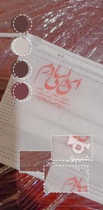 چاپ ارم لوگو اسم روی انواع ماسک با دستگاه تامپو در گروه خرید و فروش خدمات و کسب و کار در تهران در شیپور-عکس3