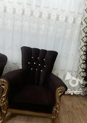 مبل 8نفره چوب در گروه خرید و فروش لوازم خانگی در آذربایجان غربی در شیپور-عکس3