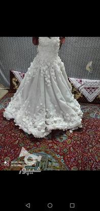 لباس عروس توری در گروه خرید و فروش لوازم شخصی در مازندران در شیپور-عکس1