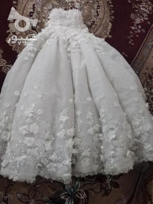 لباس عروس توری در گروه خرید و فروش لوازم شخصی در مازندران در شیپور-عکس4