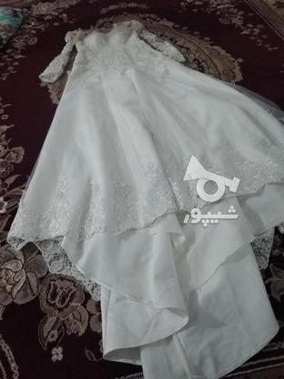 لباس عروس دنباله دار در گروه خرید و فروش لوازم شخصی در مازندران در شیپور-عکس2