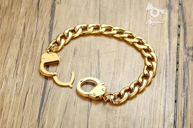دستبند مدل دستبند ( روکش طلا ) در گروه خرید و فروش لوازم شخصی در قم در شیپور-عکس1