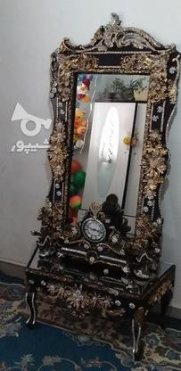 آینه وشمعدان نگین دارو شیک در گروه خرید و فروش لوازم خانگی در تهران در شیپور-عکس1