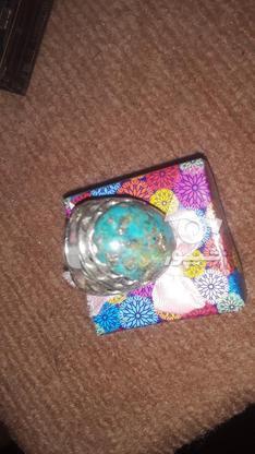 انگشترهای نقره فیروزه ،عقیق در گروه خرید و فروش لوازم شخصی در تهران در شیپور-عکس3