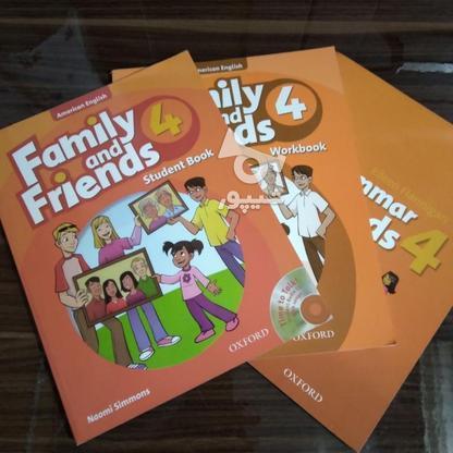 کتاب های family and friends4 در گروه خرید و فروش ورزش فرهنگ فراغت در کردستان در شیپور-عکس1