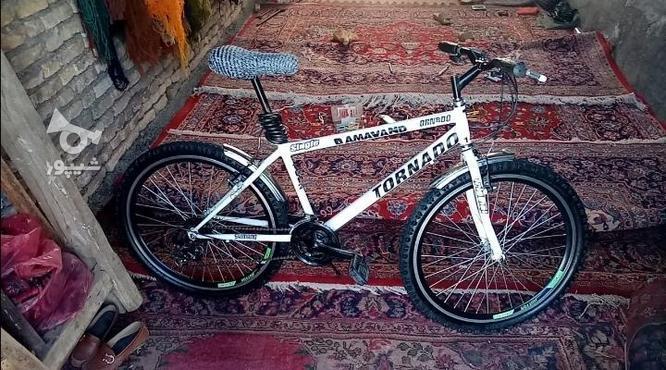 دوچرخه دماوند 26بسیار عالی در گروه خرید و فروش ورزش فرهنگ فراغت در آذربایجان شرقی در شیپور-عکس2