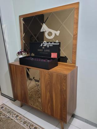 میز تلویزیون و کنسول ست(بسیار شیک) در گروه خرید و فروش لوازم خانگی در البرز در شیپور-عکس3