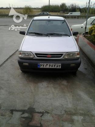 پرایدنقره ای تک گانه مدل85 در گروه خرید و فروش وسایل نقلیه در مازندران در شیپور-عکس4