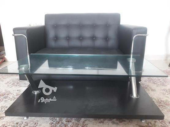 مبل اداری 4 نفره با میز در گروه خرید و فروش صنعتی، اداری و تجاری در قزوین در شیپور-عکس1