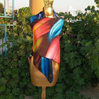 شال روسری نخی در گروه خرید و فروش لوازم شخصی در تهران در شیپور-عکس1