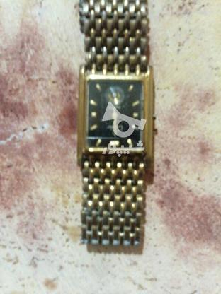 ساعت قدیمی مارک دار اصل طلایی رنگ مردانه در گروه خرید و فروش لوازم شخصی در آذربایجان شرقی در شیپور-عکس1