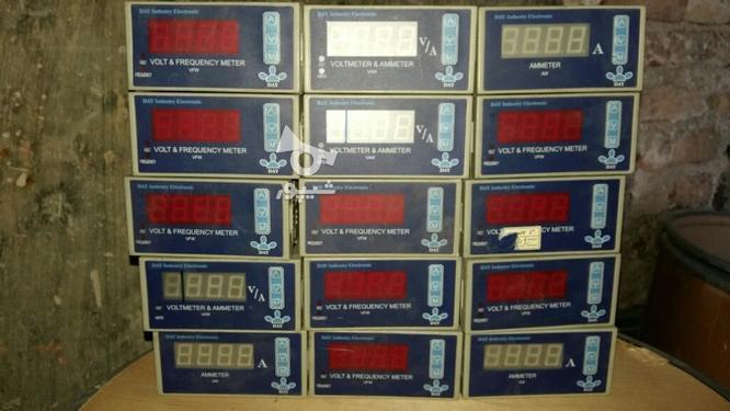 ولت متر وامپر متر تابلویی در گروه خرید و فروش لوازم الکترونیکی در البرز در شیپور-عکس1