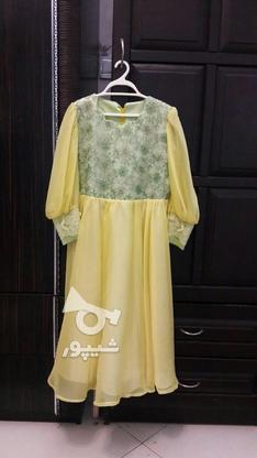 پیراهن دخترانه مزون دوز نووو شیک 6_8سال در گروه خرید و فروش لوازم شخصی در تهران در شیپور-عکس1