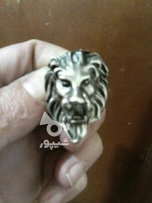 انگشتر نقره ای رنگ در گروه خرید و فروش لوازم شخصی در آذربایجان شرقی در شیپور-عکس1