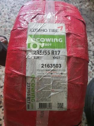 یک حلقه لاستیک کره ای کومهو صفروآبند در گروه خرید و فروش وسایل نقلیه در مازندران در شیپور-عکس1
