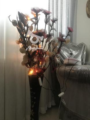 گل مصنوعی همراه با گلدان در گروه خرید و فروش لوازم خانگی در تهران در شیپور-عکس1
