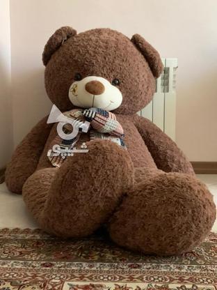 عروسک خرسی 160سانتی در گروه خرید و فروش ورزش فرهنگ فراغت در خراسان رضوی در شیپور-عکس4