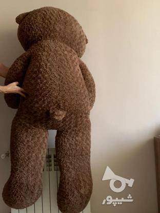 عروسک خرسی 160سانتی در گروه خرید و فروش ورزش فرهنگ فراغت در خراسان رضوی در شیپور-عکس2