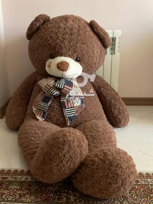 عروسک خرسی 160سانتی در گروه خرید و فروش ورزش فرهنگ فراغت در خراسان رضوی در شیپور-عکس3