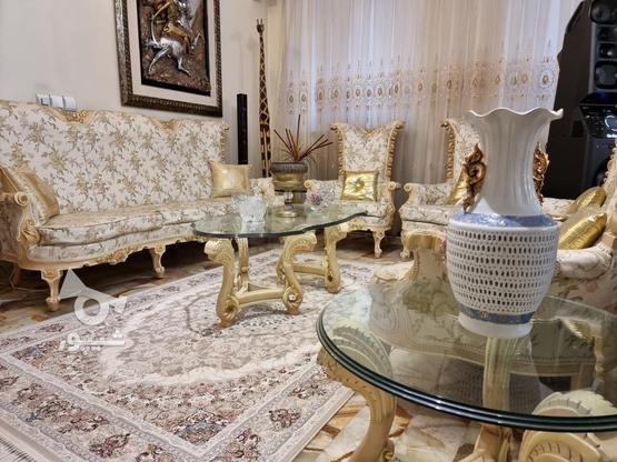 مبلمان استیل با نهار خوری و مبل راحتی در گروه خرید و فروش لوازم خانگی در تهران در شیپور-عکس7